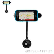 Belkin TuneBase FM Live Transmitter w/ GPS ClearScan iPod IPhone3 iPhone4 F8Z618