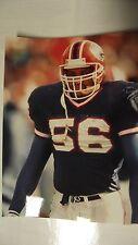 NFL Football Darryl Talley #56 Football 8x10 Color Kodak Photo Buffalo Bills Buf