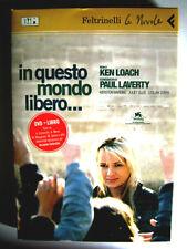 Dvd In Questo mondo libero... (Le Nuvole) + Libro di Ken Loach 2007 Usato