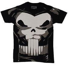 Punisher Costume Marvel Comics Autorizzato T-Shirt per Adulti