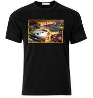 Hot Wheels - Graphic Cotton T Shirt Short & Long Sleeve