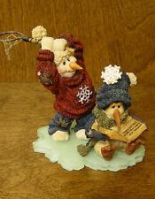 Boyds Snow Dooodes #36509 Ketchem & B. Quick.Got One!, Nib From Retail Store