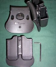 Double*Dual Mag*Magazine Pouch fits: Taurus 24/7 40 S&W 357 Sig Sauer P250 P229