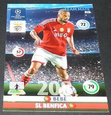 BEBE BENFICA LISBOÃ PORTUGAL UEFA PANINI FOOTBALL CHAMPIONS LEAGUE 2014 2015
