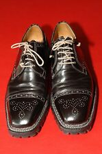 Lidfort Norvegese Welt Shoes, Black,  Fall/Winter,  US 10, Mint