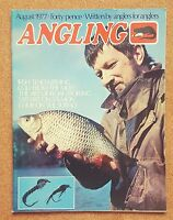 Magazine - Angling Coarse Fishing 1977 Full Contents Index Shown - Various