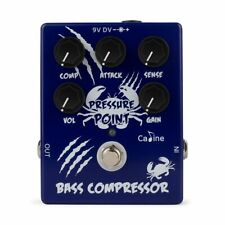 Caline CP-45 Pressure Point Bass Compressor Guitar Effect Pedal New