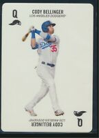 2020 Topps 52-Card Baseball Game Card Cody Bellinger Los Angeles Dodgers
