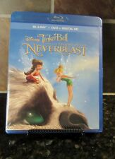 Tinker Bell and the Legend of the NeverBeast (Blu-ray/DVD,2015,Inc Digital Copy