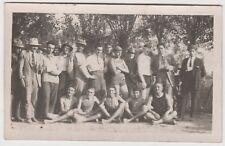 CUGGIONO - SQUADRA NUOTO (MILANO) 1923 CARTOLINA FOTOGRAFICA