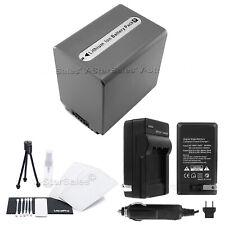 NP-FP90 Battery + Charger + BONUS for Sony DCR-DVD305 DVD403 DVD405 DVD505