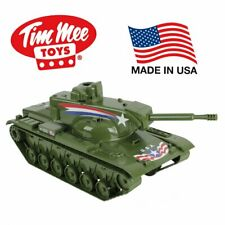 TIM MEE DOMINATOR BIG TANK FOR ACTION FIGURES - 22IN LONG OLIVE GREEN zz09