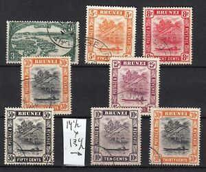 BRUNEI 1947  SG CV 46£  63$  british colonies malaya