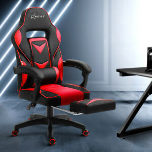 NEW Office Chair Computer Desk Gaming Chair Study Home Work Recliner Black Red