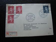 SUEDE - enveloppe 23/11/1960 (cy35) sweden