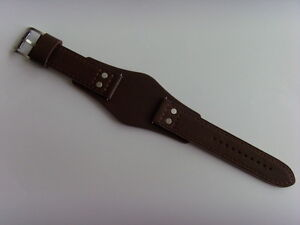 Fossil Original Spare Leather Strap CH2890 Watch Band With Underlay 22