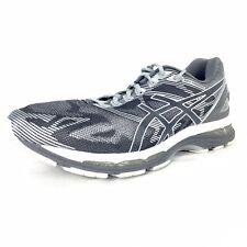 ASICS Gel-Nimbus 19 T700N-9701 Carbon / White / Silver Gray Grey Men's 12 US