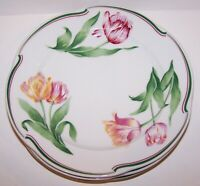 STUNNING SET OF 4 CHRISTIAN DIOR PROVENCE COLLECTION NORMANDIE SALAD PLATES