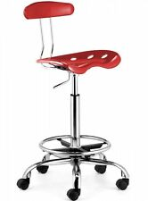 Farallon Drafters Chair Red - Zuo Modern 206012 NEW SAVE!!