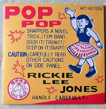 "Rickie Lee Jones ""Pop Pop"" - 2LP - Geffen/ORIGINAL RECORDINGS GROUP (ORG 007)"