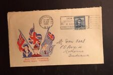 1945 New Zealand Patriotic Cover Lot Give Them Something More Thanks To USA