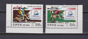 s7149) KOREA 1998 MNH** WC Football'98-CM Calcio 2v.