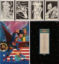 SUPERMAN 400 PORTFOLIO (16 plates) 1984 NM KIRBY CHAYKIN MOEBIUS WRIGHTSON DITKO