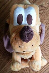Disney Vintage Baby Pluto Dog Mickey Mouse Stuffed Animal Plush Toy. VERY SOFT!