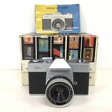 Vintage Mamiya/Sekor 528TL SLR 35mm Film Camera w/ Box and Case FOR PARTS #413