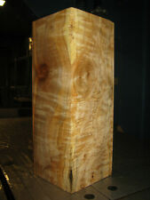 FIGURED BIG LEAF MAPLE WOOD TURNING LUMBER 4 x 4 x 11 VASE BLANK