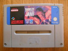 Barkley Shut Up And Jam ! Jeu Super Nintendo SNES PAL Cartouche Seule