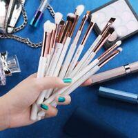 Jessup Pearl White/Rose Gold Professional Makeup Brushes Set Make up Brush