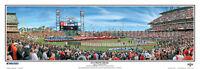 Baseball San Francisco Giants World Series 2014 AT&T Park Panoramic Poster #2103