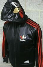 RETRO ADIDAS CHILE 62 TRACKSUIT TOP SIZE X SMALL BLACK