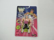 1994 JUSTOYS WWF WWE BRET HITMAN HART FIGURE SEALED