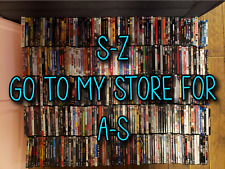 Dvd Movies *Rare & Out Of Print* All Like New! 400 Titles! S-Z