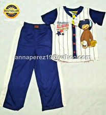 80% OFF! CURIOUS GEORGE 2PC SLEEPWEAR PAJAMA SET COTTON 2T / 1-2 yrs BNWT US$28