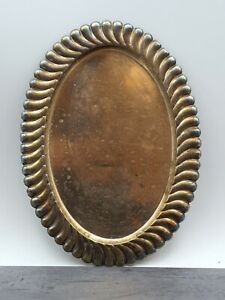 Servierplatte, Teetablett aus 925er Sterling Silber, oval (521-137)