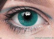 Farbige Grün Kontaktlinsen FreshTone Motiv Karneval Party Linsen Crazy Linsen