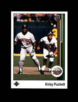 1989 Upper Deck Baseball #376 Kirby Puckett (Twins) MINT