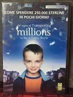 Millions DVD di Danny Boyle Nuovo Sigillato Versione Noleggio Raro N