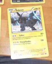 POKEMON RARE CARD HOLO CARTE Zekrom 50/99 VF FR FRANCAISE **