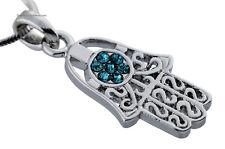 HAMSA PROTECTION HAND NECKLACE - Jewish Judaica Jewelry - Evil Eye - Luck