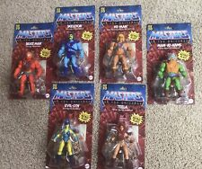 Mattel Masters of the Universe Origins He-Man + Skeletor Lot Of 6 Walmart