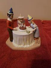 norman rockwell figurine happy birthday