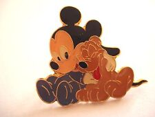 PINS RARE VINTAGE MICKEY PLUTO DESSIN ANIME WALT DISNEY CARTOON wxc 32