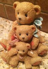 Cherished Teddies-Theodore, Samantha and Tyler #950505 Figurine Collectibles