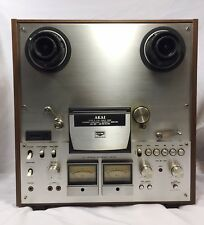 New listing Akai Gx-630D Reel-To-Reel 4-Track Stereo Tape Deck Recorder