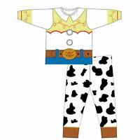 Disney Girls Toy Story Jessie Cowgirl Dressup Pyjama Set Age 1 2 3 4 5 6 Years