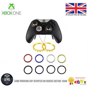 Xbox One Elite Controller Rings Replacement Parts Chrome Thumbstick Rings